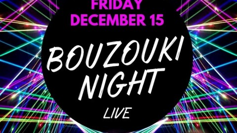 Bouzouki Night in Canada in December