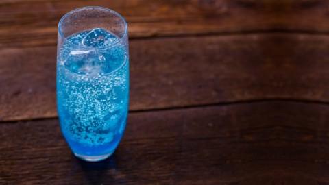 Ouzo Blue Cocktail