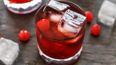 Cherry Ouzo Cocktail