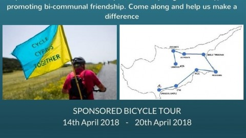 Cycle Ride Across Cyprus in April