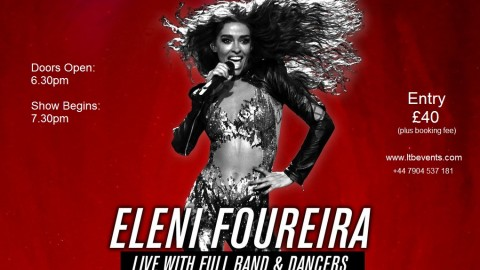 Eleni Foureira in London in June