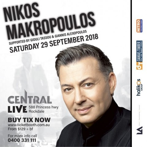 Nikos Makropoulos in Brisbane in September