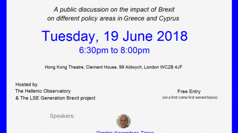 Talk on Brexit in London in June