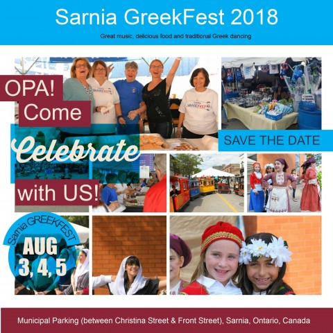 Greekfest in Ontario in August