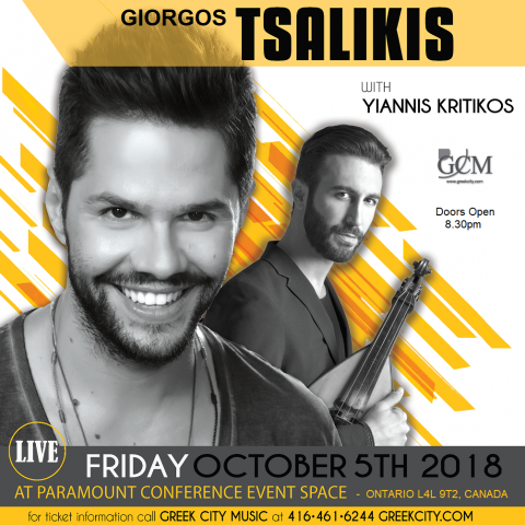 Tsalikis in Ontario in October