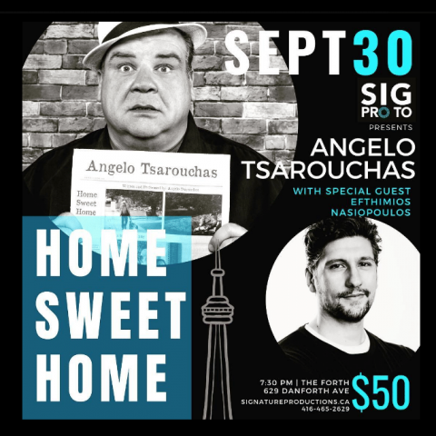 Angelo Tsarouhas in Toronto in September