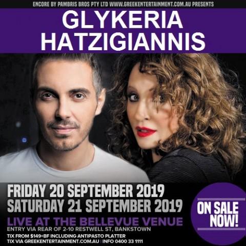 Glykeria & Hatzigiannis in Sydney